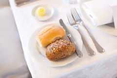Klassisk frukost Fotografering för Bildbyråer