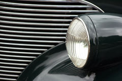 klassisk gallerbillykta för bil Royaltyfri Bild