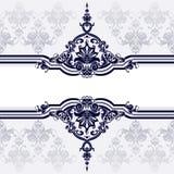 klassisk garneringwallpaper för bakgrund stock illustrationer
