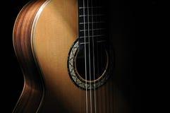 klassisk gitarr Royaltyfria Bilder