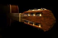 klassisk gitarr arkivbilder