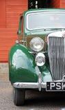 klassisk green för bil arkivbilder