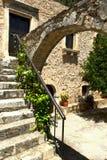 klassisk grekisk taverna Royaltyfri Foto