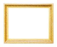 Klassisk guld- ram Royaltyfri Foto