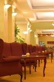 klassisk hotelllobby arkivfoto