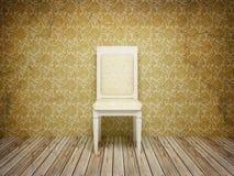 klassisk interior för antik stol Royaltyfria Foton