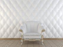 klassisk interior för fåtölj Royaltyfria Bilder