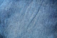 klassisk jeanstextur för bakgrund och design Royaltyfri Fotografi