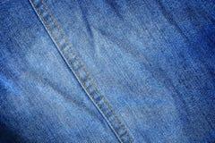 klassisk jeanstextur med häftklammeren för modell och backgroun Royaltyfria Bilder