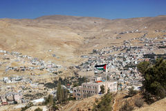 klassisk Jordan Valley sikt Arkivbilder