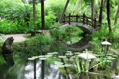 Klassisk kinesträdgård, Kina Arkivfoton
