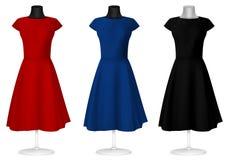 klassisk klänning Royaltyfria Foton
