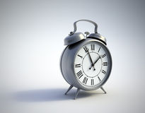 klassisk klocka för alarm Royaltyfri Bild