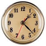 klassisk klockavägg Arkivbilder