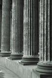 klassisk kolonnmarmor Arkivbilder