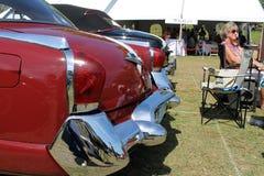 Klassisk lyxig amerikansk bilbaksidadetalj Royaltyfri Fotografi