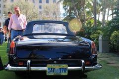 Klassisk lyxig Ferrari sportbilbaksida Royaltyfria Bilder