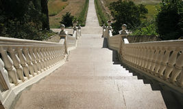 klassisk marmortrappa Royaltyfria Foton