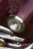 klassisk maroon för bil Fotografering för Bildbyråer