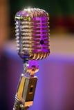 klassisk mikrofon Arkivbilder