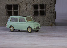 Klassisk modellbil Renault för metall av 60-tal Arkivbild