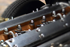 klassisk motor Royaltyfri Bild