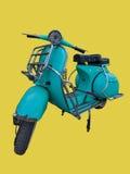 Klassisk motorbike Arkivbild