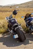 klassisk motorbike Arkivbilder