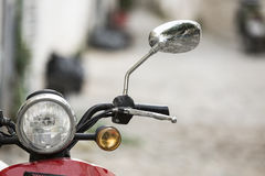 klassisk motorbike Royaltyfri Fotografi