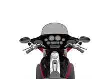 Klassisk motorcykel Arkivfoton