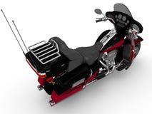 Klassisk motorcykel Royaltyfria Foton