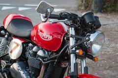 klassisk motorcykel Royaltyfria Bilder