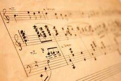 klassisk musik Royaltyfri Bild