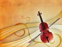 klassisk musik Fotografering för Bildbyråer
