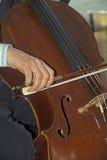 Klassisk musik som direkt spelas Arkivfoton