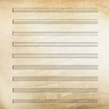 Klassisk musik täcker pappers- Arkivfoton