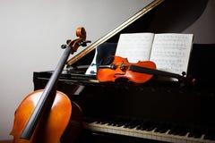 Klassisk musikbegrepp royaltyfria bilder