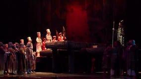 Klassisk opera Borys Godunov lager videofilmer