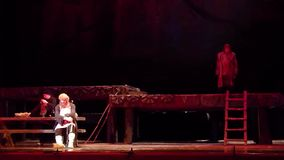 Klassisk opera Borys Godunov stock video
