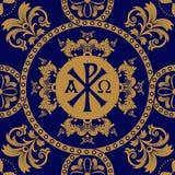 Klassisk ortodox sömlös modell Royaltyfri Bild