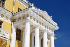 klassisk portico Royaltyfri Fotografi
