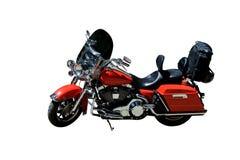 Klassisk röd cykel Fotografering för Bildbyråer