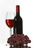 klassisk rött vin Fotografering för Bildbyråer