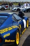Klassisk racerbil på det 72nd GRRC-medlemmötet Royaltyfri Foto