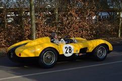 Klassisk racerbil på det 72nd GRRC-medlemmötet Arkivfoton