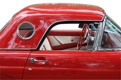 klassisk red för bil Arkivbilder