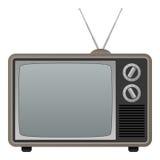 klassisk retro television Arkivfoton