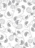 Klassisk seamless wallpaper Arkivbilder