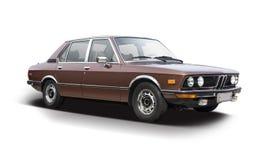 Klassisk sedanbil BMW 520 Royaltyfri Fotografi