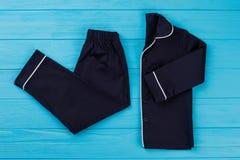 Klassisk sleepwearuppsättning för pojkar Fotografering för Bildbyråer